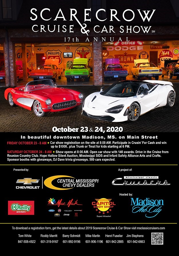 Scarecrow Cruise & Car Show